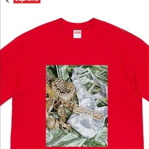 2020 Supreme Bling Tshirt brand new wit tags